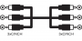 Šnúra PROFI LINK 3CINCH-3CINCH 1,5 m