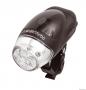 Cyklosvietidlo 4 LED èierne predné